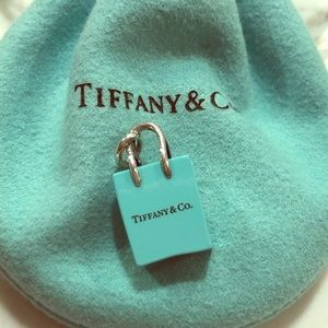 Tiffany&Co Shopping Bag Charm